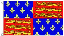 Edward III Royal Standard 5'x3' (150cm x 90cm) Flag